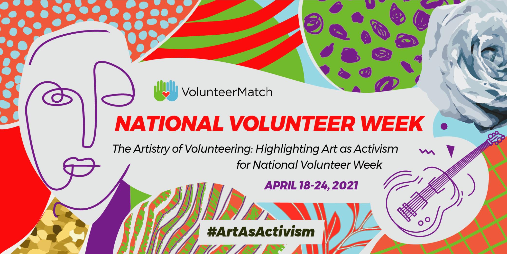 National Volunteer Week 2021 Header