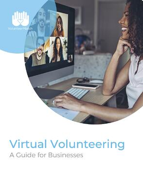 Virtual Volunteering_ A Guide for Businesses_Book Cover