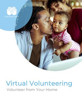 Virtual Volunteering_Volunteer From Your Home_BookCover